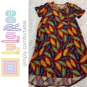 LuLaRoe Carly High Low Dress Sz Small